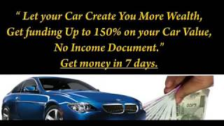 MAKE YOUR CAR AN ASSET & CREATE YOUR WEALTH