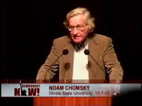 Noam Chomsky on Hegemony or Survival America's Quest For Global Dominance