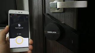 ПОДРОБНЫЙ ОБЗОР Xiaomi Mijia Sherlock M1 ► сделал умный замок с помощью Сяоми