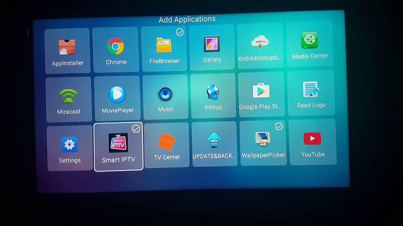 How to install SMART IP-TV on TX3 Mini