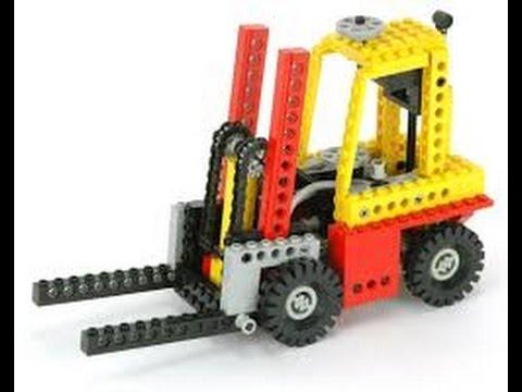 Lego Technic 8843 Building Instructions Year 1984 Youtube