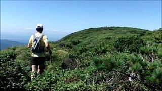 Trail Running 20170827 船形山(宮城県)