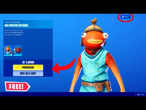 NEW FORTNITE HOW TO GET FISHSTICK SKIN FOR 100% FREE (NOT CLICKBAIT!) WORKING 2020!