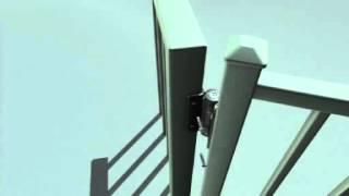 Tru-close Regular Adjustable, Self-closing Gate Hinge Installation Video