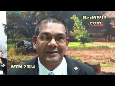 Guyana at World Travel Market Uk  2014