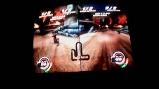 Cours moto multi joueurs (. NITRO BIKE PLAYSTATION 2 )  ft GIGI gaming partie 1