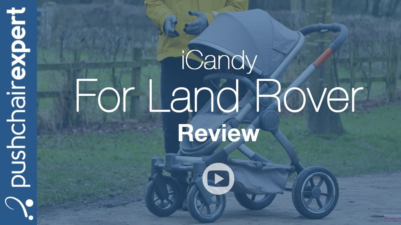 iCandy for Land Rover All-Terrain Review - Pushchair Expert - Up Close