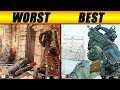 the BEST and WORST gun in BO4...