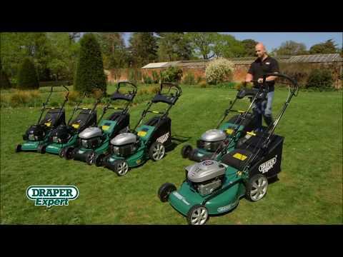Draper Petrol Mowers From Power Tools UK