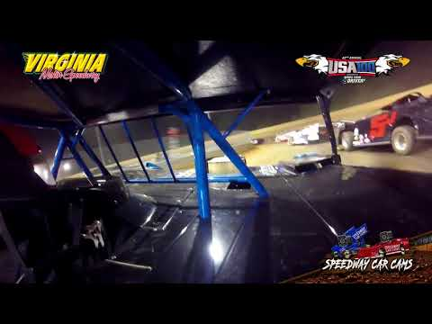 USA100 #77 Brian Hankins - Crate Late Model - 6-16-18 Virginia Motor Speedway - In Car Camera
