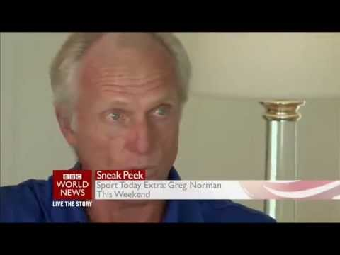 Greg Norman Promo on BBC World