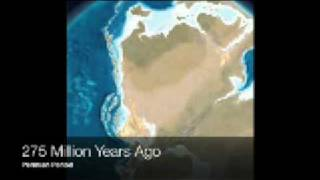 550 Million Years of Plate Tectonics - The North American Plate