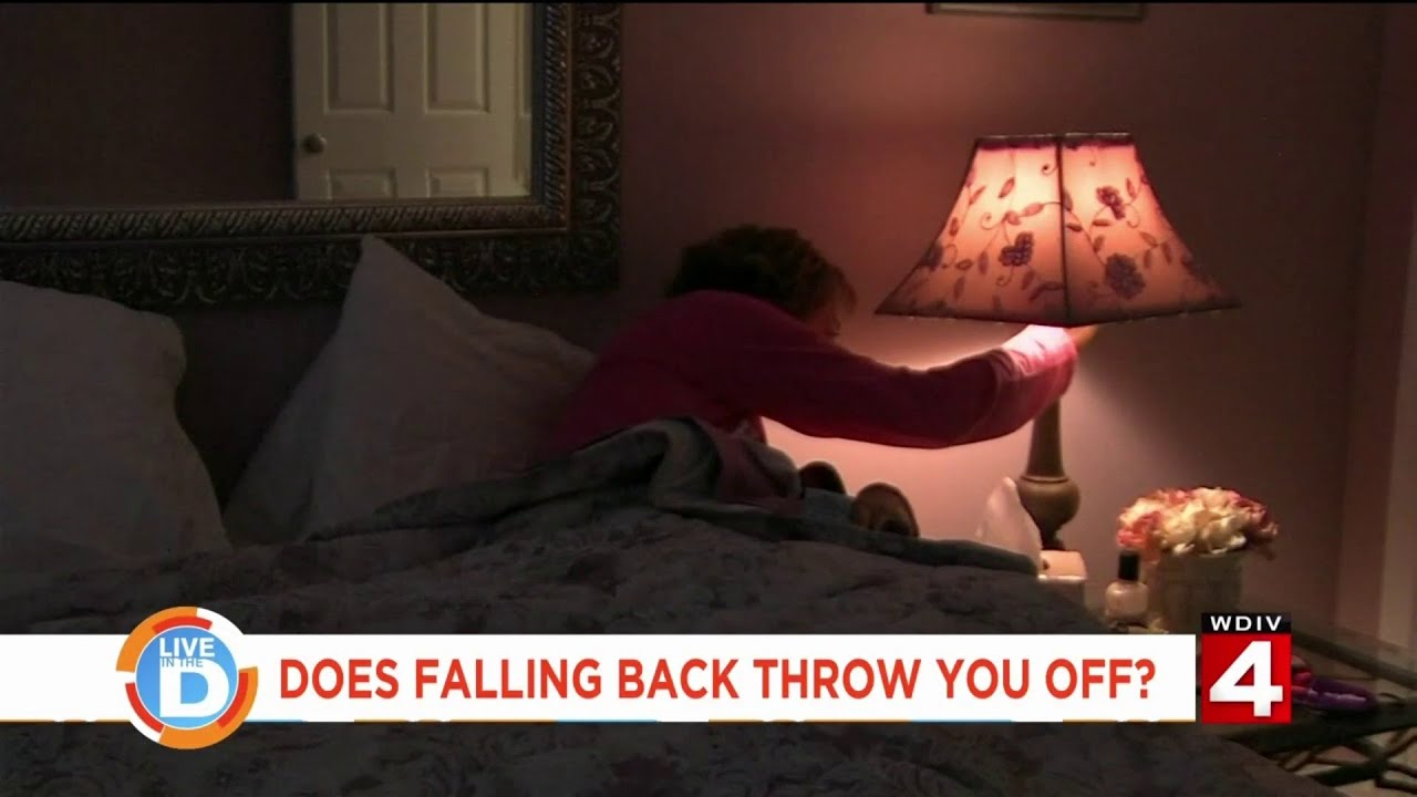 Live In The D: Talkin' with Tati - Does falling back throw you off?