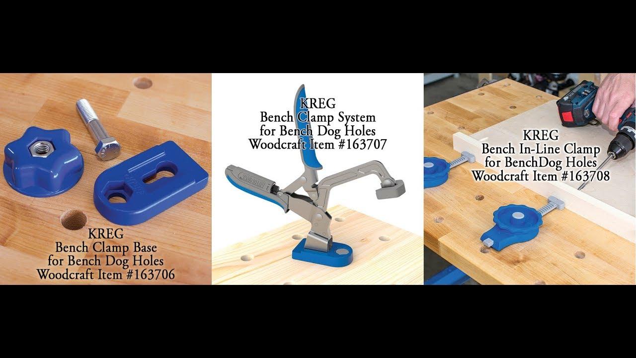 Kreg Bench Clamp with Bench Clamp Base KBC3-BAS