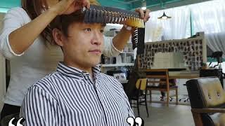 퍼스널컬러진단 후 컬러를 결정하는 부천미용실 솔뱅드살롱