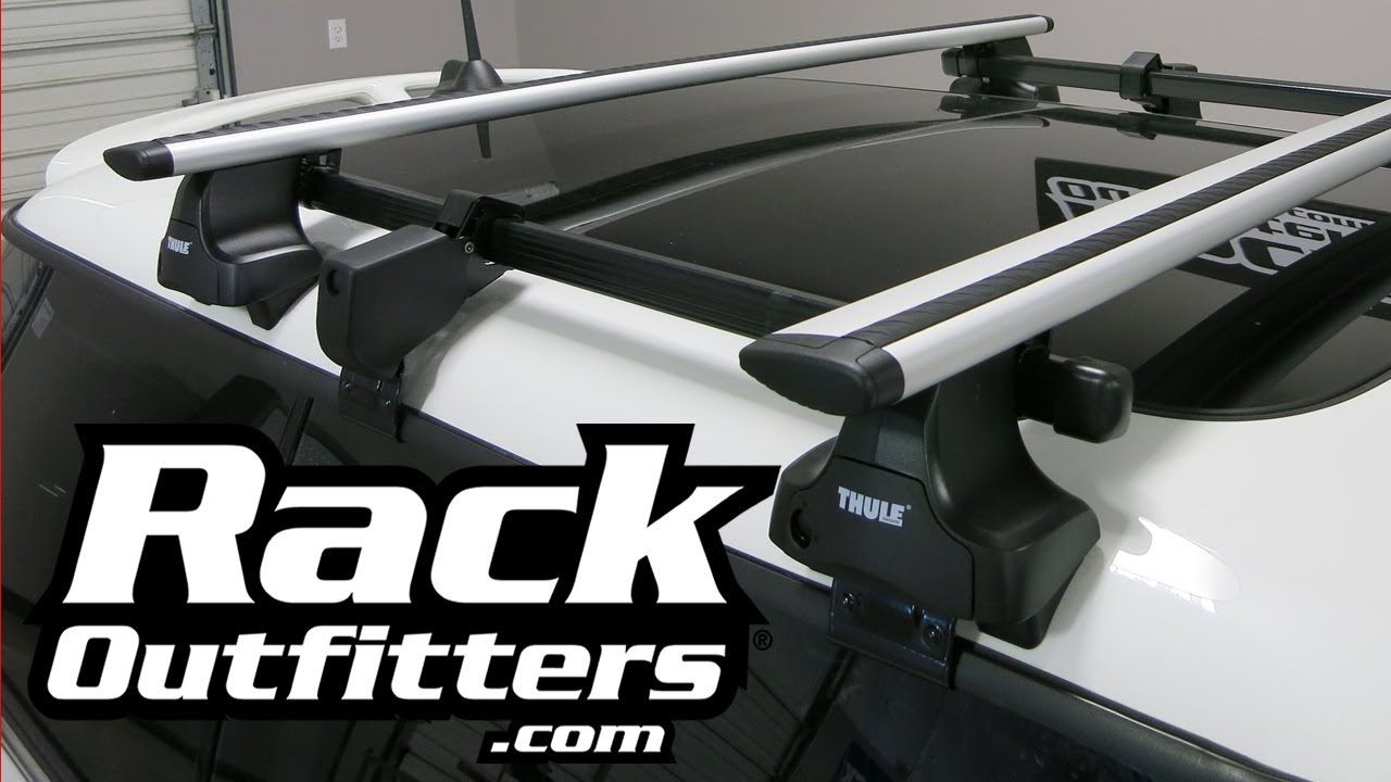 Best Roof Rack for Mini Cooper Thule AeroBlade Rapid ...