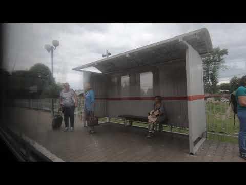 ЭД4М-0003, маршрут: Можайск - Вязьма / Train ED4M-0003, Route: Mozhaisk - Vyzhma