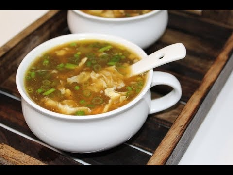 Hot And Sour Chicken Soup Recipe