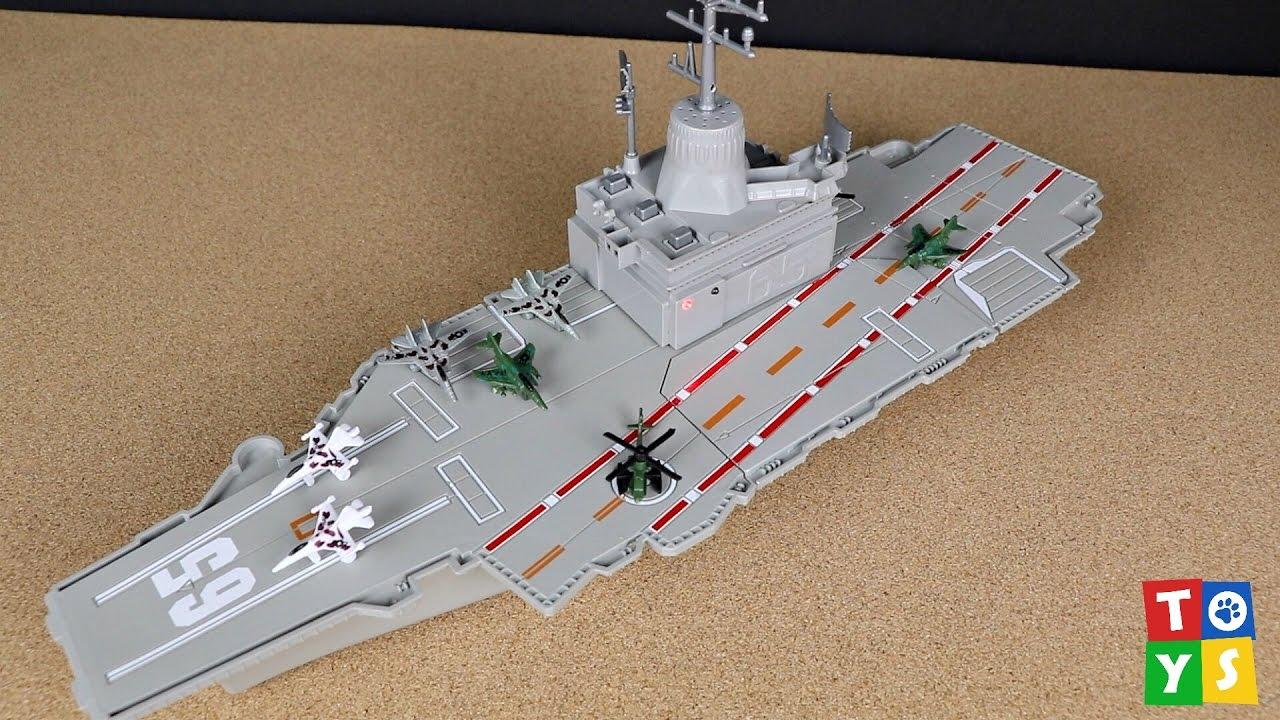Battle Zone Aircraft Carrier Playset