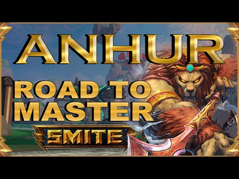 SMITE! Anhur, Extraña manera de comenzar :S! Road To Master Duel S4 #1