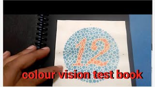 Colour vision test book full