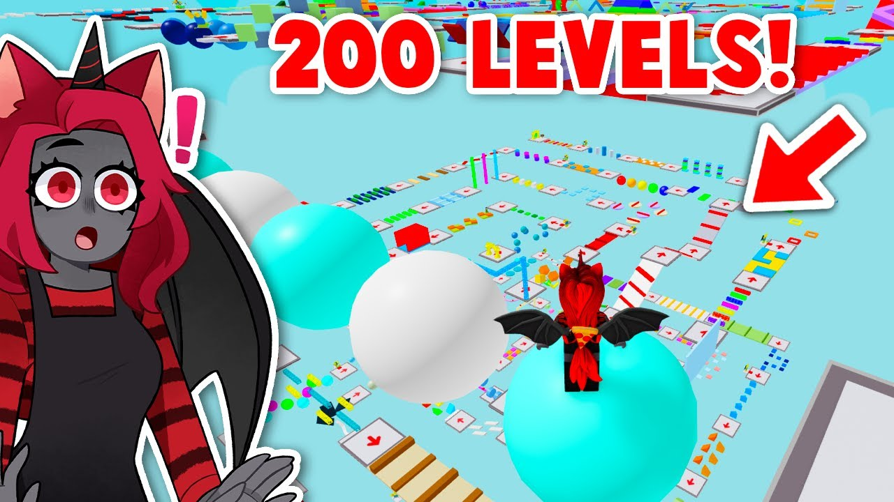 Completing 200 LEVEL In MEGA OBBY! (Roblox)