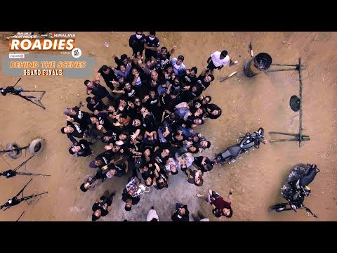 HIMALAYA ROADIES | BEHIND THE SCENES |GRAND FINALE