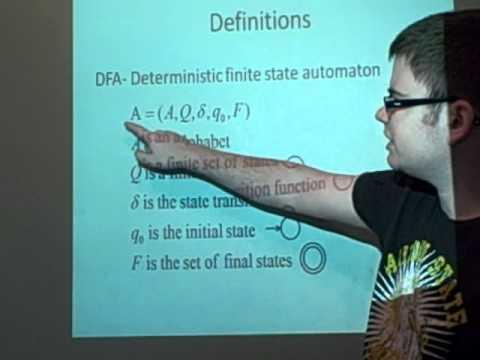 DFA Deterministic finite state automaton