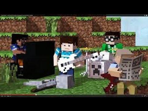 Cartoon- On & On (Minecraft Music Video)