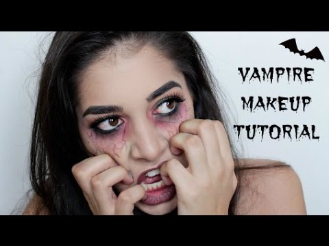 The Vampire Diaries HALLOWEEN Makeup Tutorial - YouTube