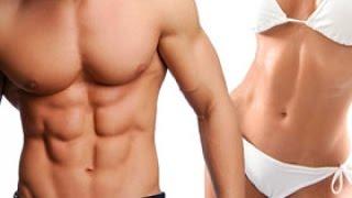 Видеоурок Домашние фитнес упражнения с гантелями для рук и груди для мужчин и девушек