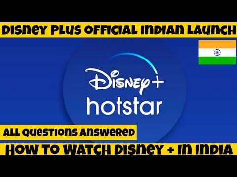 Disney + Official Launch In India With Hotstar  | How to Watch Disney + In India