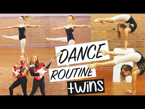 Twins Dance Routine | Pop Music | Teagan & Sam