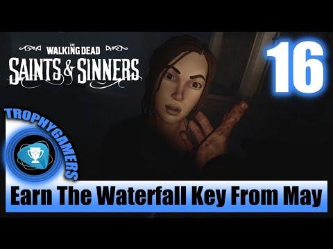 The Walking Dead: Saints U0026 Sinners - Earn The Waterfall Key From May - Meet May In The Churchyard