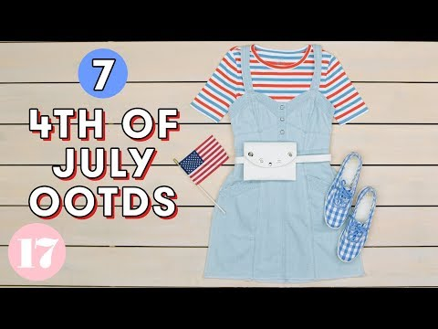 7 Red White & Blue Outfits for 4th of July | Style Lab
