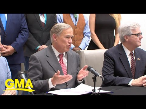 Texas governor under fire for new abortion law comments l GMA