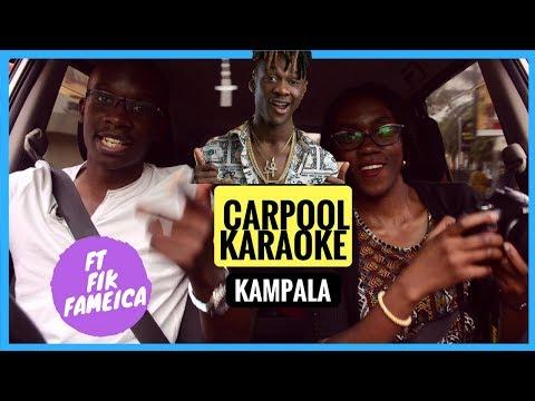 Kampala CARPOOL KARAOKE ft Fik Fameika - Kutama
