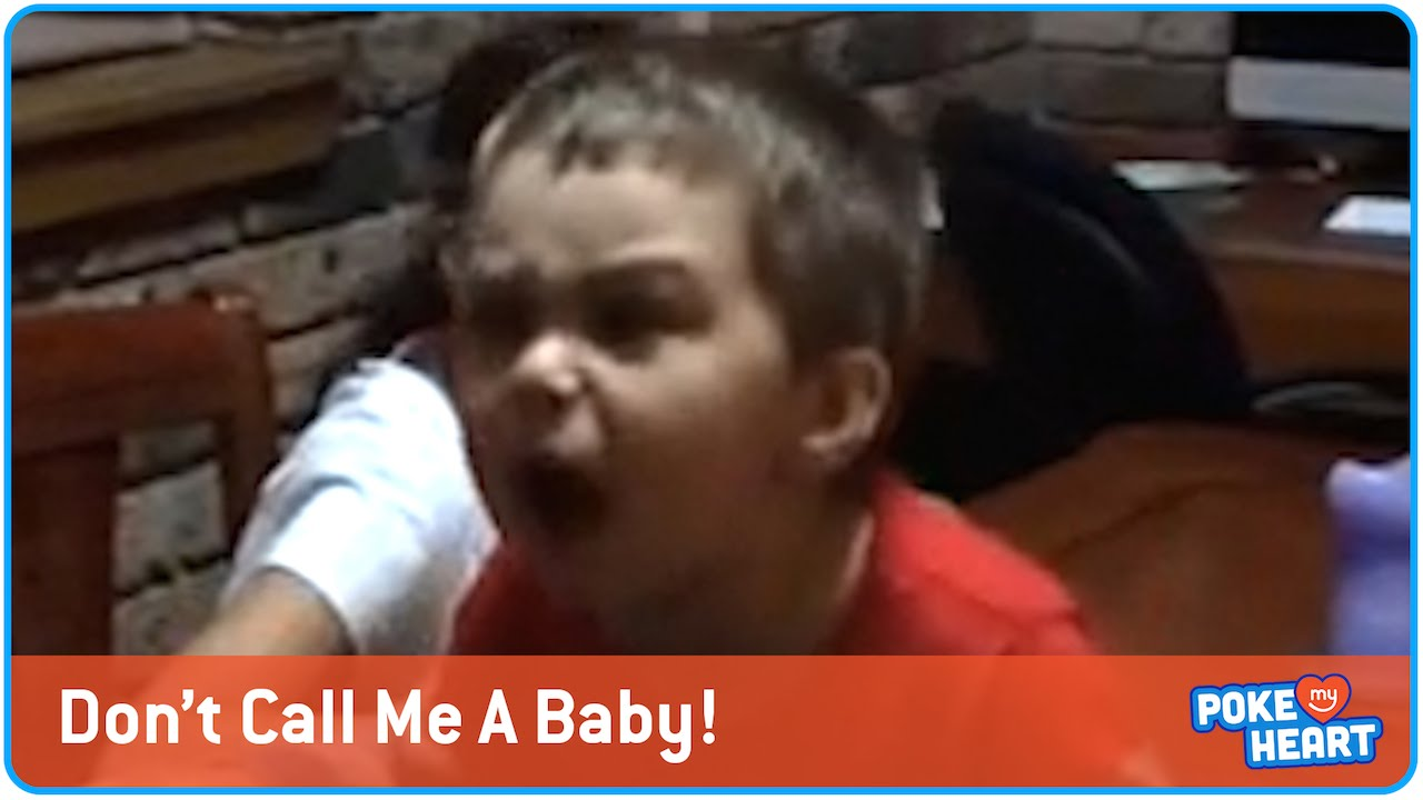Funny and Cute Angry Toddler