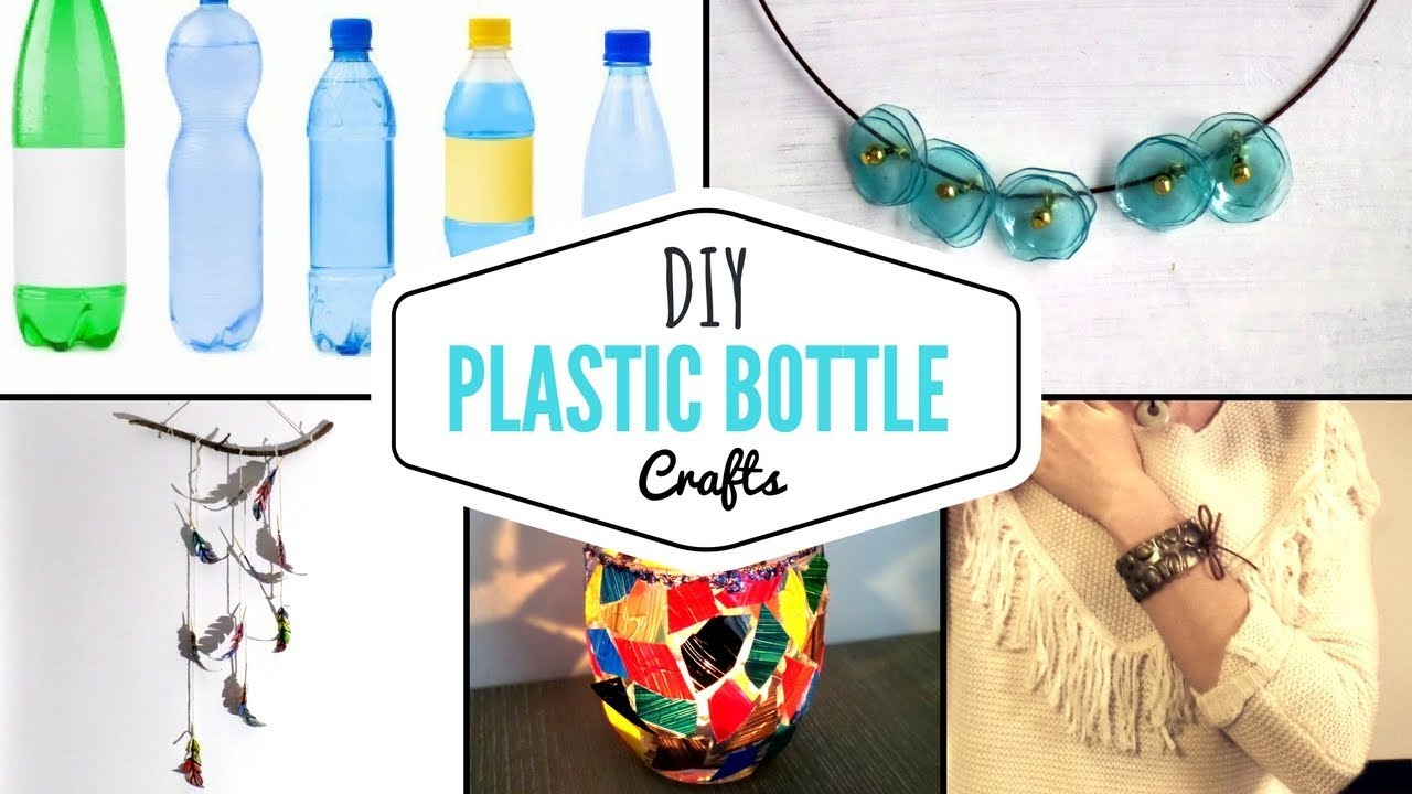 DIY Easy Plastic Bottle Craft Ideas | Creative Recycled Bottles ...