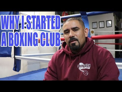 WHY I STARTED A BOXING CLUB