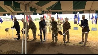 Army Cyber Command Complex groundbreaking