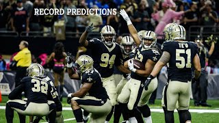 New Orleans Saints 2018 Schedule Predictions | What will the Saints Record be in 2018?