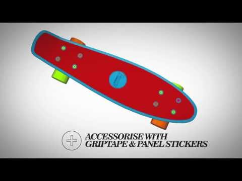 Penny Skateboards - create your own design in 3D!