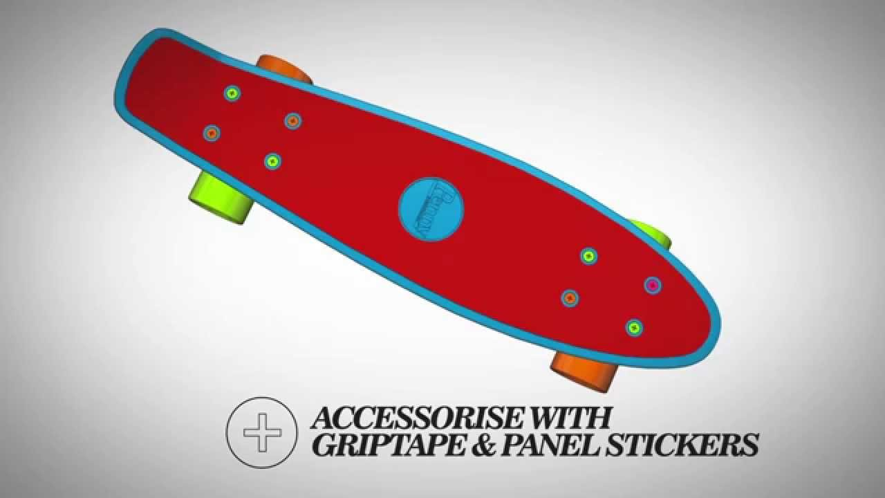 penny skateboards create your own design in 3d youtube