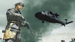 """Call of Duty 4 - Soap and Price Rooftop Escape (Custom Mission) - CoD4 """"spooked"""""""