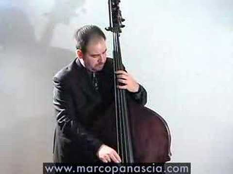 Marco Panascia solo jazz bass Bye Bye Blackbird Miles Davis