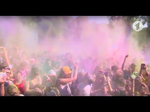 Праздник красок Холи в Тирасполе 2017 г.