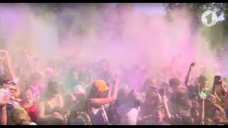 Праздник красок Холи в Тирасполе / Утренний эфир