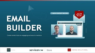 Email Builder - Create ServiceNow Notifications that Inspire Action at Scale