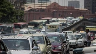 بالفيديو.. سيولة مرورية على محاور القاهرة الكبرى